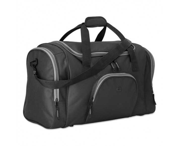 c0cbd1662 ... Bolsa de Deporte o Viaje Personalizada Color Negro Lateral