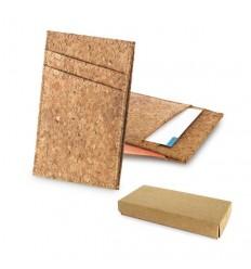 Porta Tarjetas de Corcho Ecológico Promocional