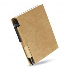 Libreta de Bolsillo Reciclada con Bolígrafo Publicidad