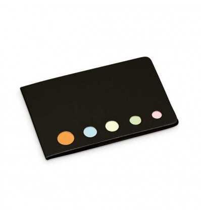 Bloc de Post-it con 5 colores para Logo de Empresa Color Negro