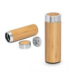 Botella Termo de Bambú 430ml Personalizada