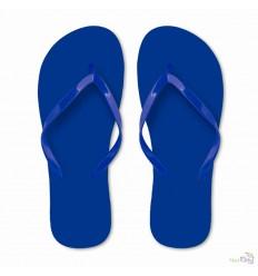 Chanclas de Playa para Publicidad Color Azul