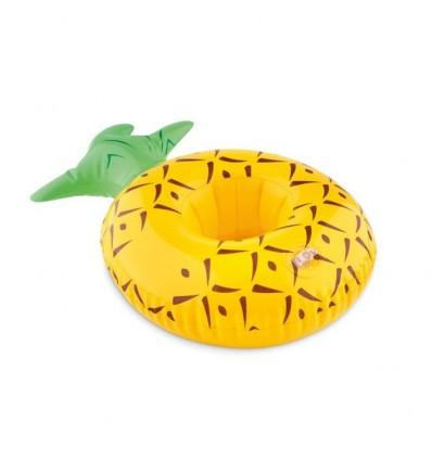 Portalatas inflable con forma de Piña Promocional Color Amarillo