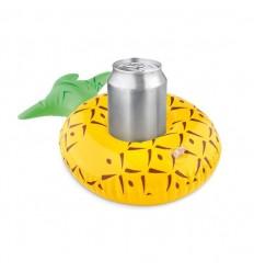 Portalatas inflable con forma de Piña Publicitaria con ejemplo de uso