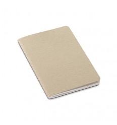 Bloc de Notas de Cartón Reciclado con Logo Personalizado Promocional Color Natural