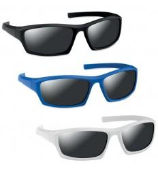 Gafas de Sol Deportivas con Efecto Espejo para Publicidad
