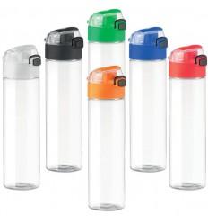 Botella antifugas con asa plegable y sin BPA para Publicidad