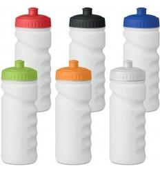 Botella de deporte de plástico opaco 500ml para empresas