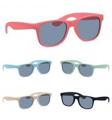 Gafas de sol elegantes de fibra de bambú para empresas