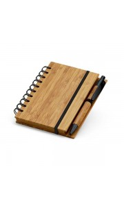 Bloc de Notas de Bambú Mini