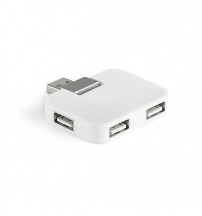 Puerto USB 2.0 para regalo personalizado Color Blanco
