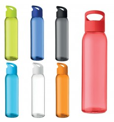 Botella de cristal con asa 470 ml para campañas publicitarias