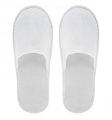 Zapatillas de Hotel Personalizadas baratas Color Blanco