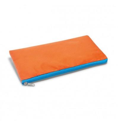 Estuche de Non Woven Personalizado con Logo de Empresa Color Naranja