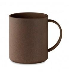 Taza de cáscara de café y PP ecológico 300ml publicitaria