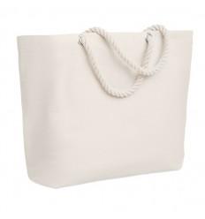 Bolsa de playa con asas de cuerda publicitaria