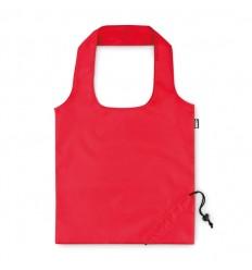 Bolsa plegable ecológica con asas cortas publicitaria Color Rojo
