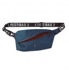 Bandolera Festibax antirrobo con correa ajustable publicitaria