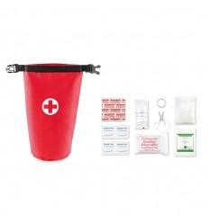 Set de primeros auxilios con bolsa publicitario