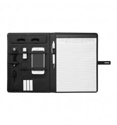 Portafolio A4 con carga inalámbrica merchandising