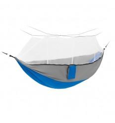Hamaca nylon con mosquitera publicitaria Color Azul Royal