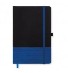 Libreta A5 con tapa non-woven publicitaria Color Azul