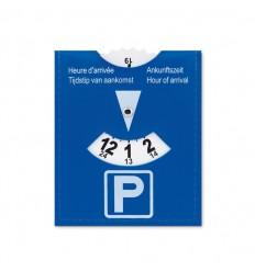 Disco de aparcamiento publicitario Color Azul
