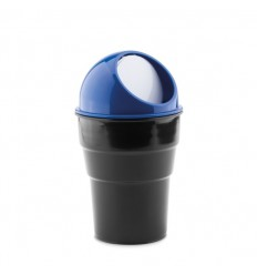 Mini cubo de basura para coche publicitario Color Azul Royal