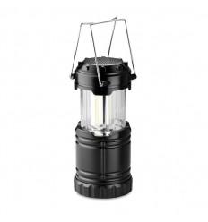 Luz de camping con altavoz bluetooth publicitaria Color Negro