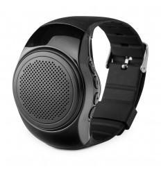 Altavoz con forma de reloj de pulsera personalizado Color Negro