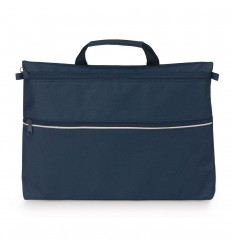 Bolsa portadocumentos con bolsillos barata Color Azul