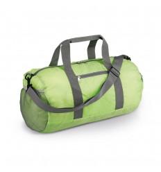 Bolsa deportiva plegable de poliéster promocional Color Verde claro