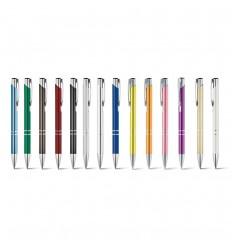 Bolígrafo de aluminio de varios colores publicitario