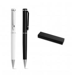 Bolígrafo de metal con clip Lioca publicitario