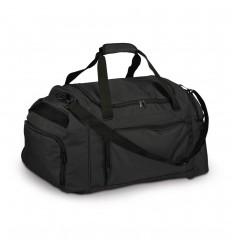 Bolsa deportiva de poliéster con bandolera personalizada Color Negro