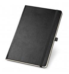 Bloc de notas A5 con páginas punteadas personalizado Color Negro