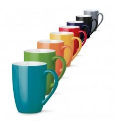Taza de cerámica Dernis 370 ml publicitaria