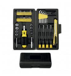 Caja de herramientas con 45 piezas publicitaria