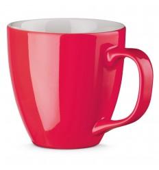 Taza de porcelana Colors 450 ml personalizada Color Rosa