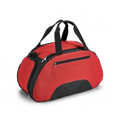 Bolsa de Deporte con Bolsillo Delantero para Merchandising Color Rojo