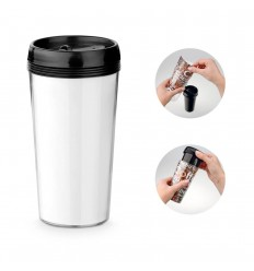 Vaso doble cuerpo Travel 520 ml publicitario