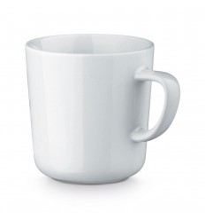 Taza de cerámica Gumy 270 ml personalizada Color Blanco