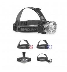 Linterna LED con cinta para la cabeza publicitaria