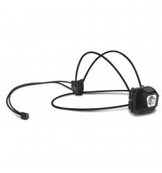 Linterna frontal con cinta y hebilla personalizada Color Negro