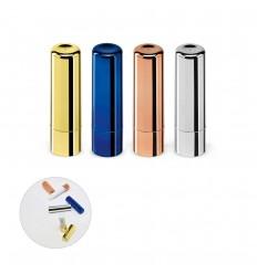 Protector labial de ABS metalizado publicitario