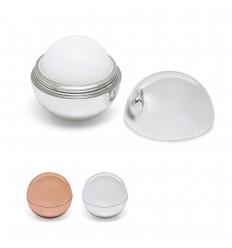 Protector labial esférico de ABS metalizado publicitario