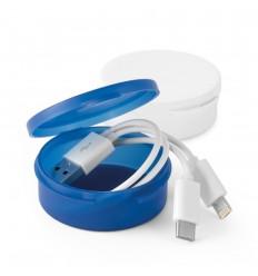 Cable USB 3 en 1 publicitario