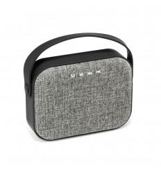 Altavoz bluetooth con micrófono personalizado Color Gris