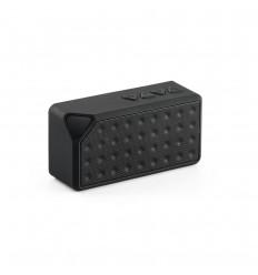 Altavoz con micrófono de ABS personalizado Color Negro