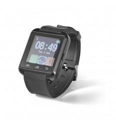 Reloj inteligente con correa de silicona personalizado Color Negro